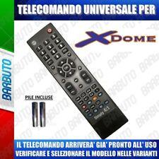 TELECOMANDO UNIVERSALE XDOME CLICCA IL TUO MODELLO LO RICEVERAI GIA PRONTO