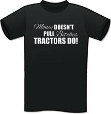 Farming Farmer Tractor T-Shirt Slogan Fendt Case Claas New Holland MONEY PULL