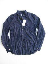 Button Down Shirt Surfside Supply Company Dot Dobby Woven Shirt NEW NWT $115