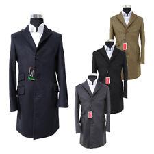 Cappotto UOMO Coats&Coats Modello BARONETTO Varie Taglie Lana & Cachemire DD