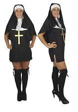 Robe de Nonne Sexy Habitude set moniales & on the run catholique Soeur robe fantaisie