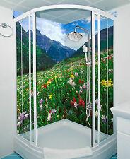 3D Flowers Slope 116 WallPaper Bathroom Print Decal Wall Deco AJ WALLPAPER CA