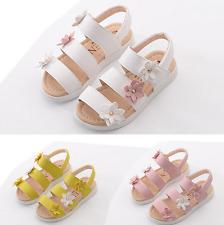 UK STOCK Girls Cute Toddler Children Beach Sandals Size 5 Infant11.5 Kids Shoes