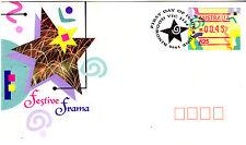 1996 Festive Frama FDC - Ringwood PMK