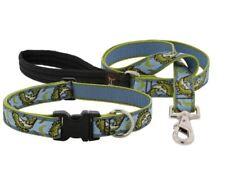 "Lupine Lifetime Guarantee Dog Leash or Collar-1""- LIMITED EDITION - GONE FISHIN'"