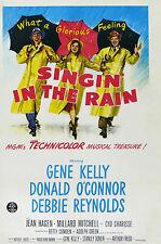 """singin' In The Rain "" Gene Kelly Retro Movie Poster A1a2a3a4sizes"