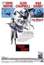66202 True Grit John Wayne, Glen Campbell, Kim Darby Wall Print Poster CA