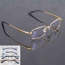 Agstum 100% Pure Titanium Spectacles Men's Optical Eyeglass Frame eyewear