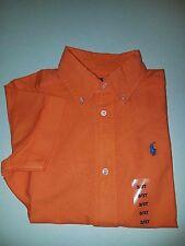 Ralph Lauren Boys Blake Poplin Short Sleeve Shirt - NWT Size 5 & 6