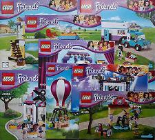 Lego Friends manuel d'instruction Livre NEUF