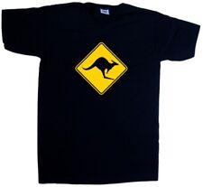 Kangaroo avvertimento con scollo a V T-Shirt