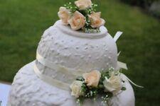 matrimonio, anniversario, compleanno CORALLO Topper per torta / Set da 3 e 2
