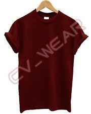 Plain Gildan Algodón Pesado T Shirt Colores actual Regalo Camiseta Hombre Para Mujer Unisex
