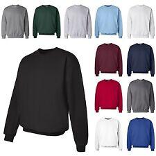 HANES NEW Mens Size S-3XL PrintProXP Ultimate Cotton Crewneck Sweatshirt Jumper