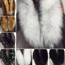 Women Faux Fur Winter Fluffy Collar Scarf Shawl Wrap Stole Scarfs Hot