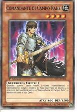 Comandante di Campo Rahz - Field-Commander YU-GI-OH! YS11-IT018 Ita COMMON 1 Ed.