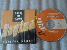 CD-REGINA-KILLING ME SOFTLY-TEARS OF LOVE-VERSION DANCE-(CD SINGLE)1996-3TRACK
