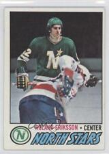 1977-78 Topps #123 Roland Eriksson Minnesota North Stars RC Rookie Hockey Card
