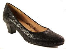 CAPRICE Schuhe Pumps  schwarz echt Leder - laufen auf Luft - NEU