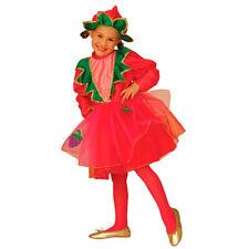 Kinderkostüm Kleine Erdbeere Strawberry Tutu Kleid Obst Beere Mädchen Kostüm