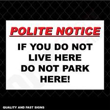 Sticker Alu Dibond Paf0056 ARROW on the Left PVC Parking Signs
