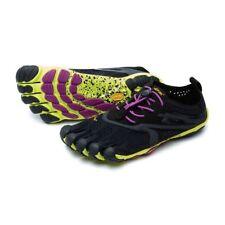Vibram V-RUN Womens Shoes Black/Yellow/Purple