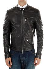 US Men Leather Jacket Hommes veste cuir Herren Lederjacke chaqueta de cuero R10a