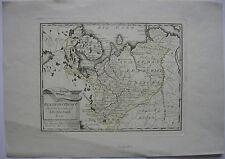 Russland Russisches Reich Archangel grenzkol Kupferstichkarte Reilly 1791