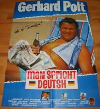 Kinoplakat MAN SPRICHT DEUTSCH Gerhard Polt