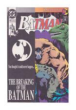 Batman #497 - Breaking of the Bat. Bane. DC Comics, Jul 1993. NM