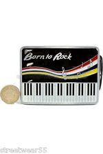 Born To Rock Piano correa & hebilla correa libre de todos tamaños