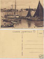 Carte Postale Ancienne Croix de Vie Coin du Port