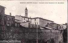 #MONTE S. SAVINO: CONVENTO DELLE MONACHE DI S. BENEDETTO
