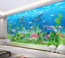3D Fonds Marins 78 Photo Papier Peint en Autocollant Murale Plafond Chambre Art