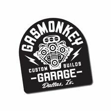 Custom V8 Sticker / Decal - Garage Gas Shed Hot Rod Rat Built Build Car Monkey
