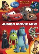Item 1 Jumbo Movie Mix Disney Pixar Coloring Book By RH