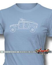 Hummer HUMVEE H1 Slantback Military Women T-Shirt - Multiple Colors and Sizes