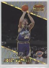1999 Bowman's Best Atomic Refractor #127 Scott Padgett Utah Jazz Basketball Card
