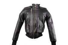 Adidas Missy Elliott Collection Lederjacke Pleather Jacket Schwarz Gr. 34-42