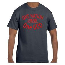 Christian Jesus tshirt One Nation Under One God Est. In the Beginning