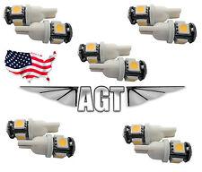 10pcs German Quality 194 Wedge Bulbs 192 168 194 W5W 2825 158  (USA)