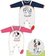 Tutina con piedino neonato in ciniglia Disney dalmata *24520