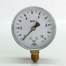 "Manometer Ø63mm  G1/4"" unten,  - alle Messbereiche - EMPEO - Made in Germany"
