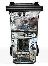 "Mülltonnenaufkleber ""Graffiti""  Aufkleber Mülltonne M42"