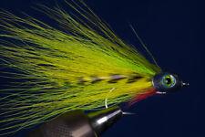 Fliegentom - Streamer für Hecht und Raubfische - Bucktailfischchen Nr. 7