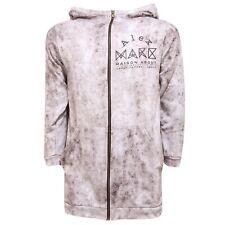 3283R felpa donna MAISON ABOUT MILANO maxi felpa manica 3 /4 sweatshirt women