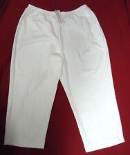Women's Pants Slacks White 22W 24W Alfred Dunner NWT