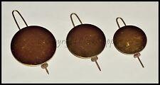 Pendulum & Bob Wire Brass Faced 37.5mm 44mm 51mm Clock Repair Part 8 day 30 hour