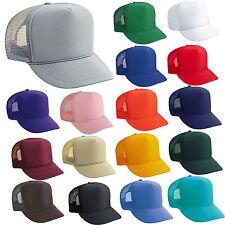 BULK LOT of 120 TRUCKER HATS ~ WHOLESALE Mesh Caps Adjustable SNAPBACK HAT Blank