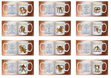 Taza de café / Vaso con signo del zodiaco y nombre DESEADO 330ml 11oz astrología